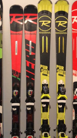 Skis Rossignol alta gama