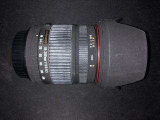 Objetivo Canon Sigma 18-200