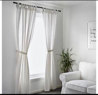 4 cortinas LENDA Ikea