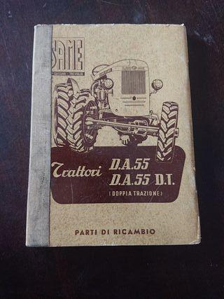 CATALOGO PIEZAS RECAMBIO TRACTOR SAME DA 55 1956