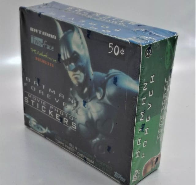 Batman Forever Movie Stickers Cards