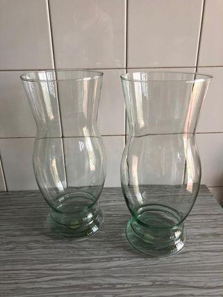 Jarrones cristal nuevos