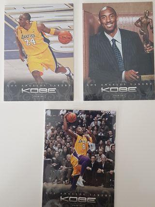 Lote 3 cards NBA Kobe Bryant Anthology