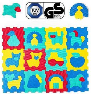 Alfombra puzzle infantil para gatear