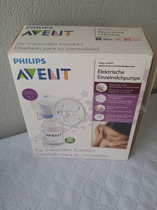 Sacaleches marca Philips Avent con todos los acces