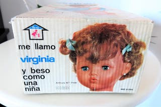 Antigua muñeca Virginia de Novo-Gama años 60