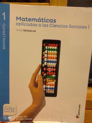 Libro de texto Matemáticas Bachillerato 1