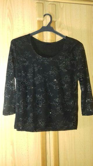Camiseta Negra Fiesta