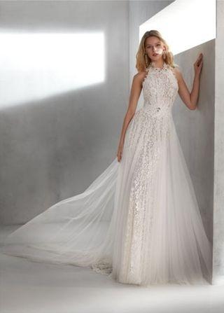 Vestido novia Valerio Luna 2019