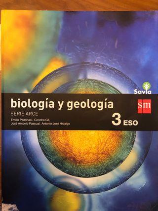 Libro Biología y Geología 3ESO. Savia SM