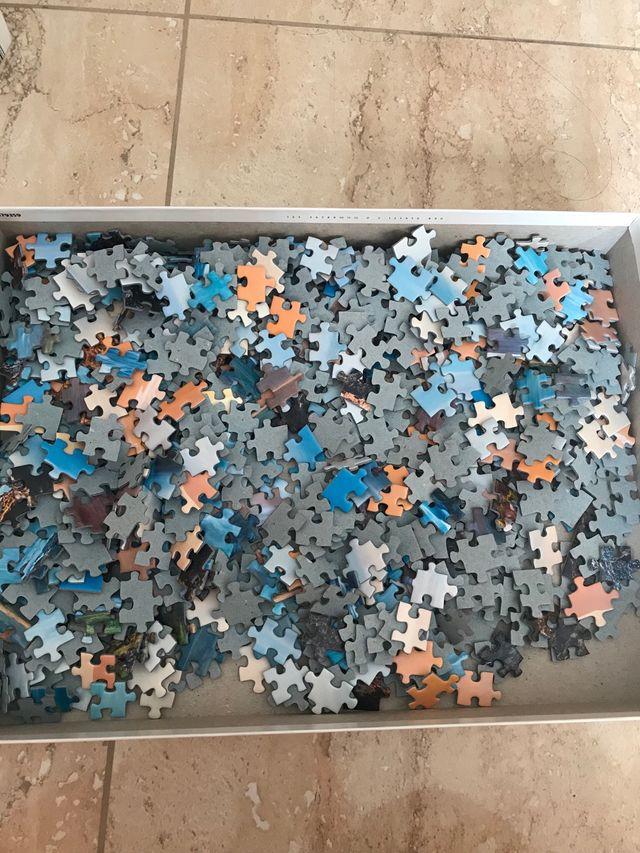 Puzzle 1000 piezas en perfecto estado