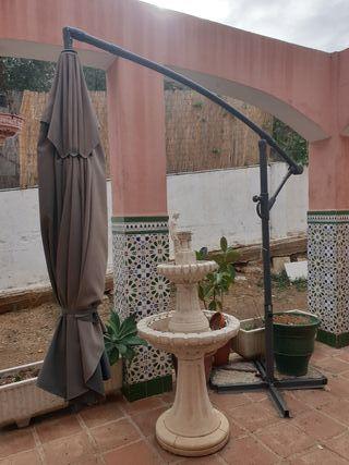 parasol lateral rectangular jardin280x385