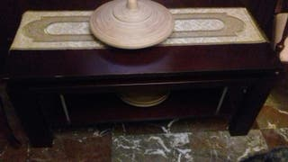 mesa baja elevable madera