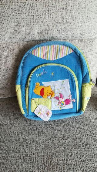 Preciosa mochila infantil Disney.