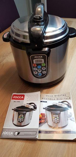 Robot de cocina.Olla digital electrónica Jocca