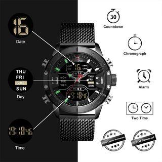 Naviforce reloj digital militar de lujo 2019 NUEVO
