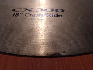 "Pearl CX300 18"" Crash Ride"