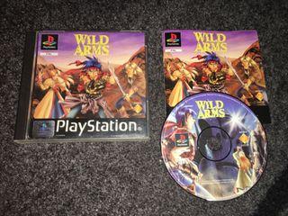 Wild Arms para PS1, Pal España.