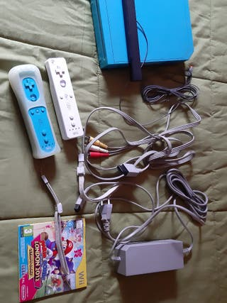 Consola Wii azul (edición limitada)