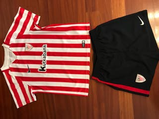 Equipacion fútbol Athletic Club Bilbao