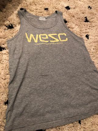 Camiseta wesc original gris