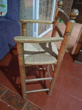 silla niño