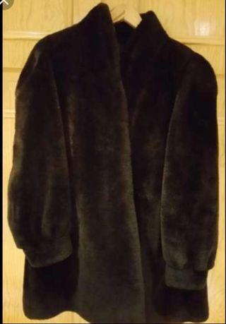 abrigo muton señora