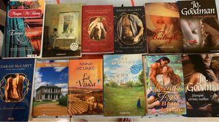 Lote 19 novelas románticas bolsillo