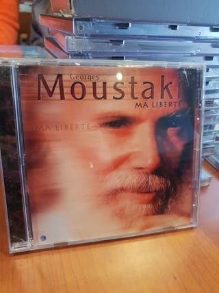 CD GEORGES MOUSTAKI MA LIBERTÉ