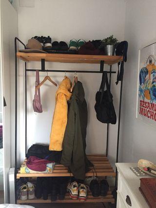 Burro/ perchero IKEA