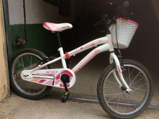 Bicicleta Niña Megamo 18
