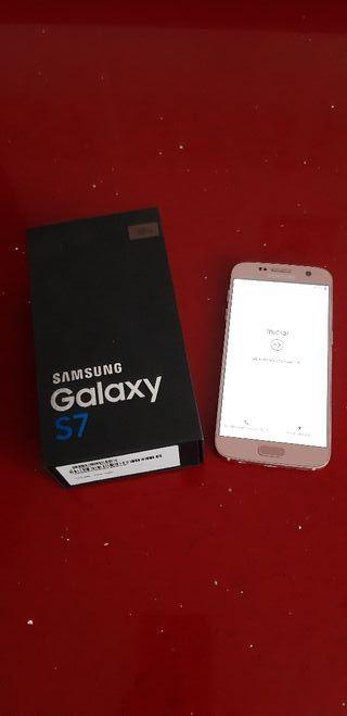 Samsung Galaxy s7 Pink gold