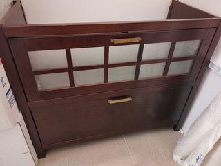 Mueble para lavabo estilo colonial