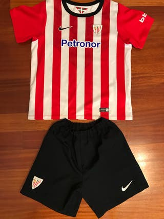 Equipacion fútbol Athletic Club niño.