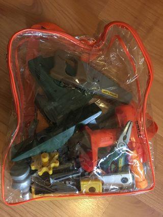 Mochila de herramientas de juguete