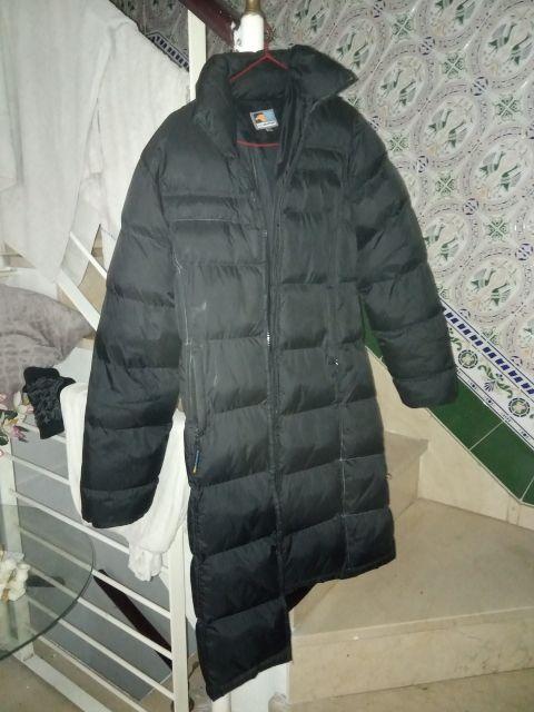Abrigo de invierno de plumón