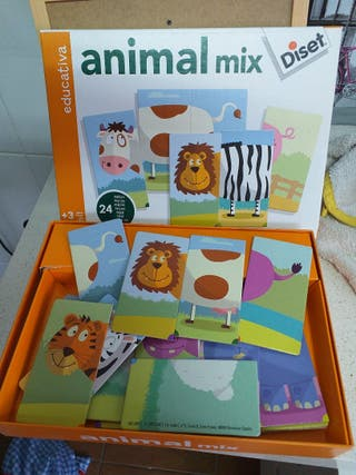 Puzzle. Animal mix de Diset