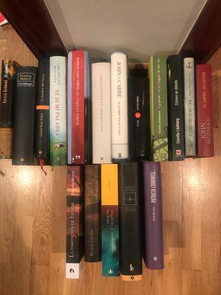 Lote 17 libros. Novelas variadas