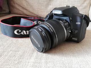 Cámara de fotos Canon EOS 1000D