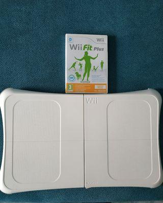Wii fit Plus y tabla