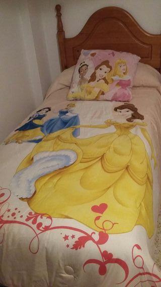Edredón infantil Princesas Disney