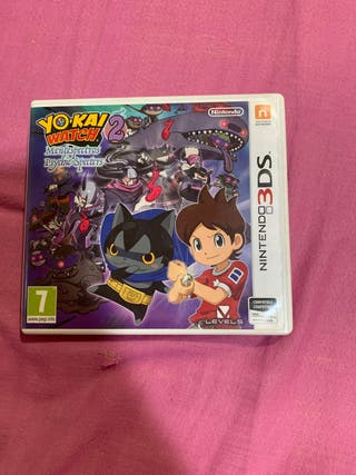 Yo-kai watch 2 Mentespectros nintendo 3DS