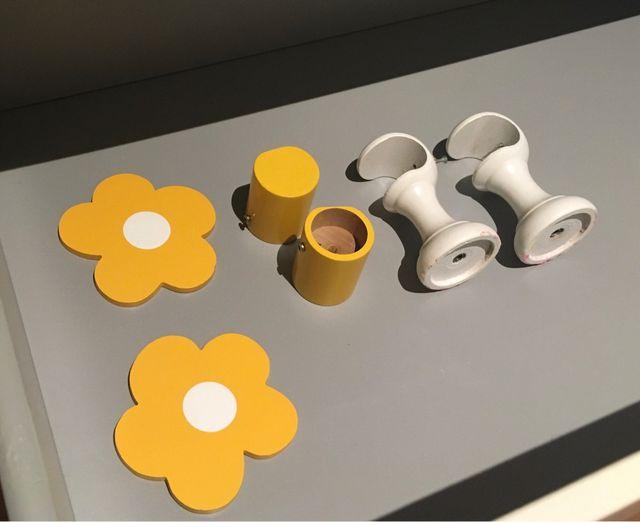 Dormitorio infantil flores