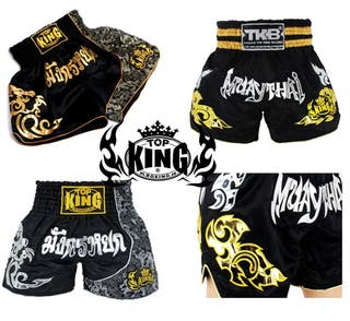 PANTALONES SHORTS TOP KING MUAY THAI KICK BOXING