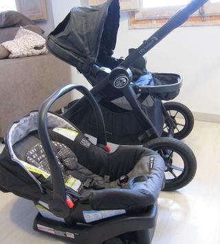 Carro City Select Baby Jogger - Silla Paseo + Auto