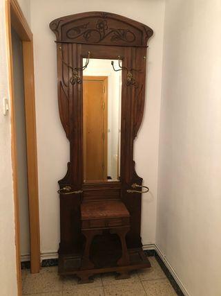Mueble recibidor paragüero Modernista