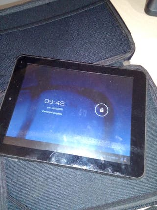 Tablet BQ Kepler2 + Wolder miTab+Funda teclado