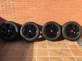 """4 Llantas Originales BMW 17"""" + neumáticos invierno"""