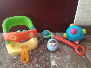 Conjunto 8 Juguetes y Accesorios Bebé