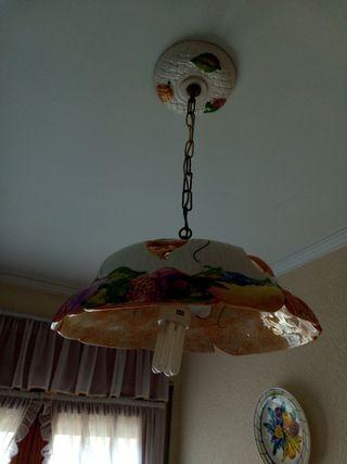 lámpara de techo ceramica